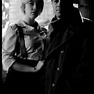 Bonnie and Clyde by David Petranker