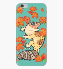 Fire lily gecko iPhone Case