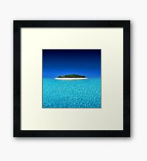 Exotic Private Island  Framed Print
