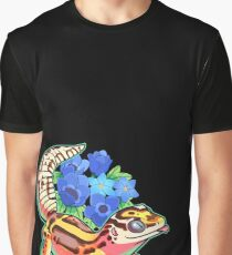 Camiseta gráfica Bold gecko