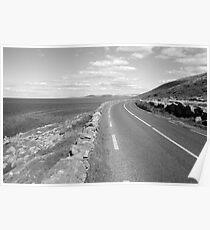 Burren county road Poster