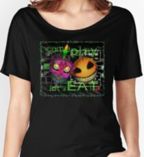 Come Play...Lets Eat Women's Relaxed Fit T-Shirt