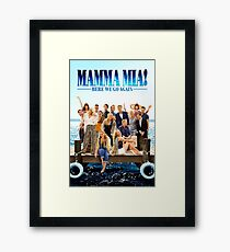 Mamma mia  Framed Art Print