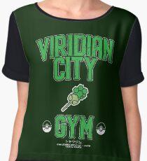 Viridian City Forest Chiffon Top