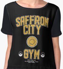 Saffron City Gym Chiffon Top