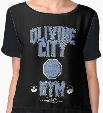 Olivine City Gym Chiffon Top