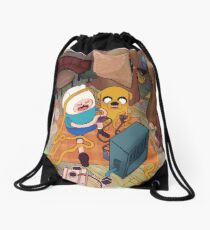What Time Is It? Drawstring Bag
