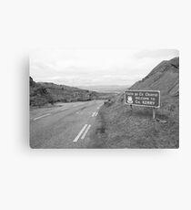 Cork/Kerry border Canvas Print