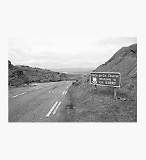 Cork/Kerry border Photographic Print