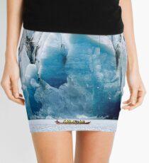Ride to the Alaskan Glacier Mini Skirt