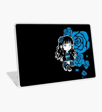 Wa-Lolita Blue Rose Laptop Skin