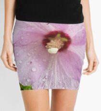 Lilac Rose of Sharon Mini Skirt