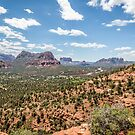 "View from ""vortex"" point near the Sedona airport. by eegibson"
