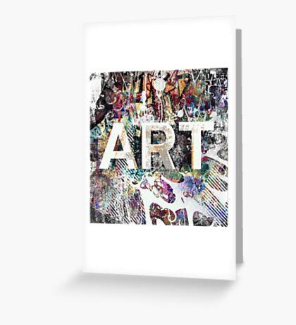 Graffiti is Art Greeting Card