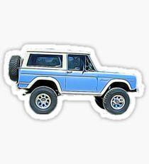 Ford Bronco Sticker