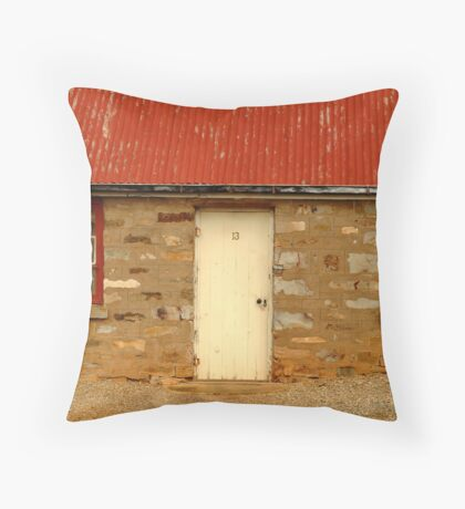 Lucky 13,Cottage S.A. Throw Pillow