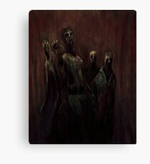 Zombies! Canvas Print