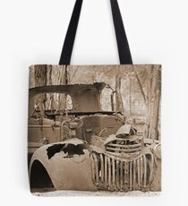 Wrecked & Rusted Tote Bag