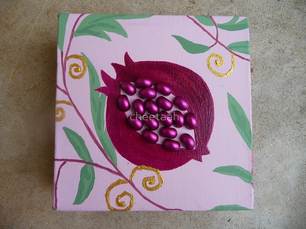 Pomegranate **Seed of Life** by cheetaah