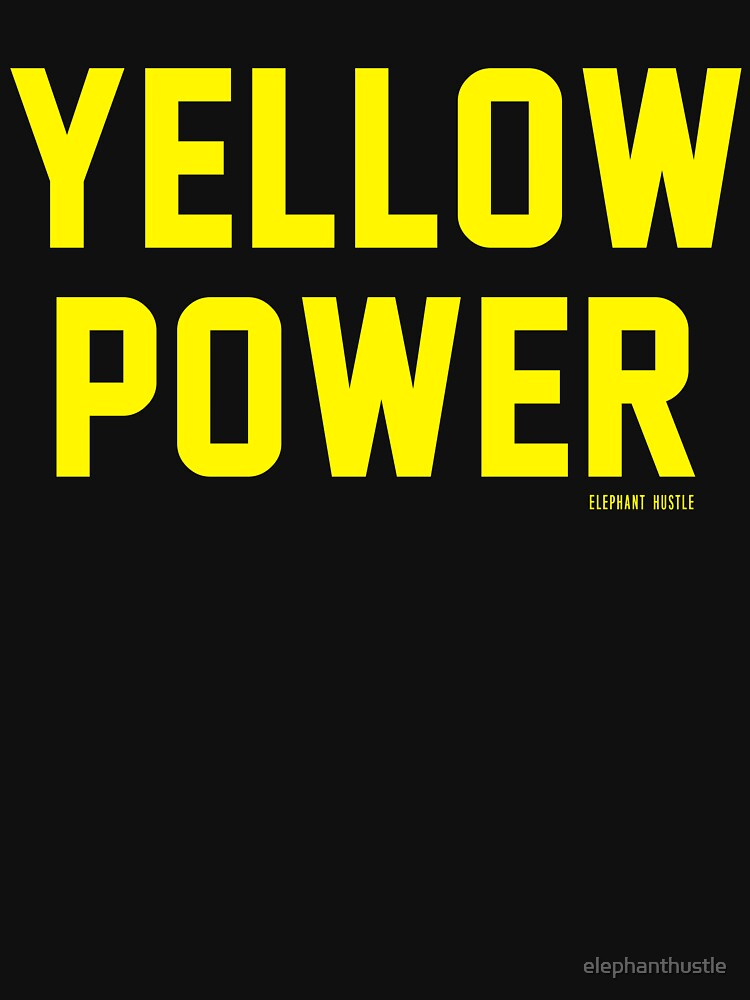 Yellow Power, Asian Inspired by elephanthustle