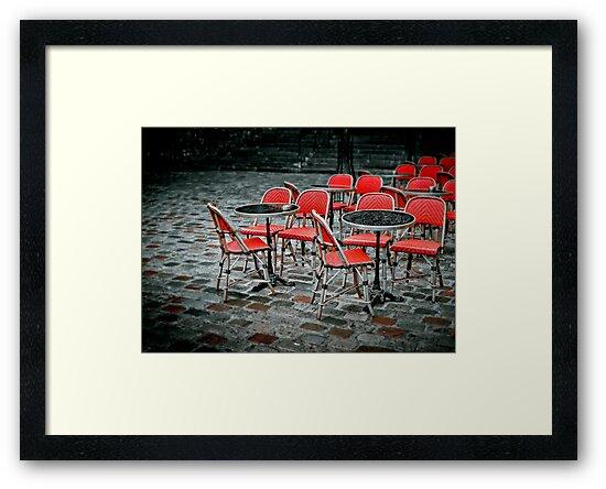 Chairs in Montmartre by laurentlesax