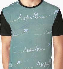 Airplane Mode Graphic T-Shirt