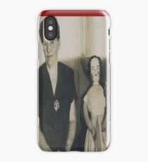 Famous Woman Doll Collector with one of her Dolls iPhone Case