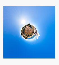 Golden Gate Bridge Planet Photographic Print