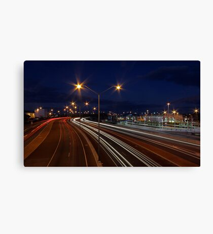 Graham Farmer Freeway Traffic  Canvas Print