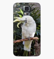 A Friendly Sulfur-Crested Cockatoo Salutes the Photographer Case/Skin for Samsung Galaxy