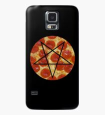 pepperoni pizza pentagram Case/Skin for Samsung Galaxy