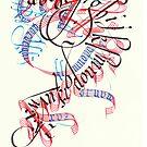 Calligradoodle  ( Alphabet ) by billgrant43