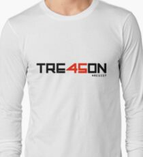 TRE45ON (TREASON) Long Sleeve T-Shirt