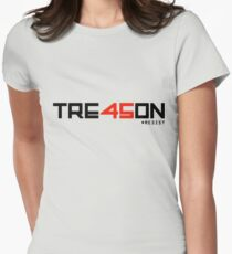 TRE45ON (TREASON) Women's Fitted T-Shirt