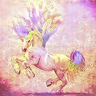 Dancing Unicorn by Ladyfyre