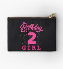 Pink Birthday Girl 2 Studio Pouch