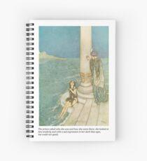 The Little Mermaid Hans Christian Anderson original illustration Spiral Notebook