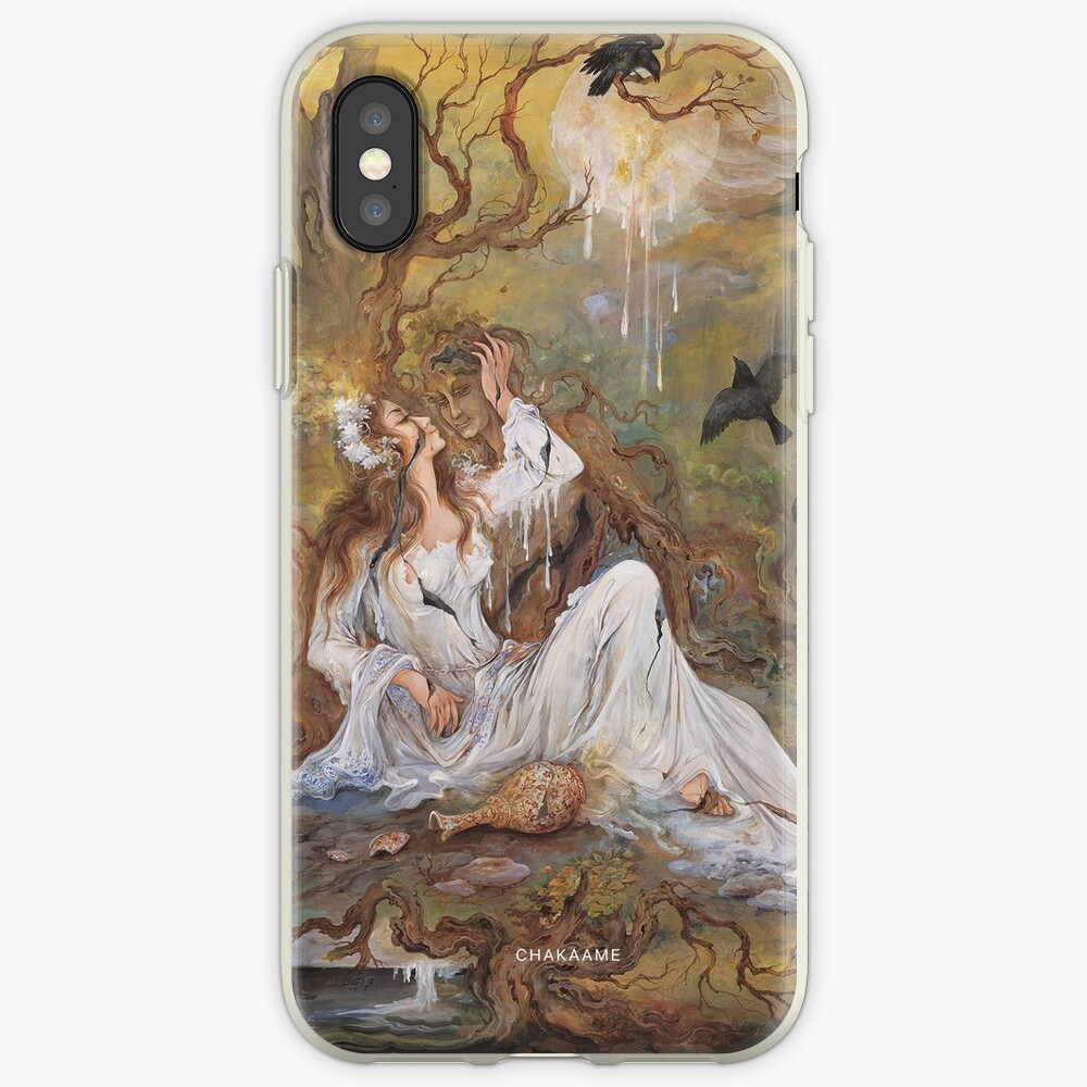 Persian Miniature - F026 iPhone Case & Cover