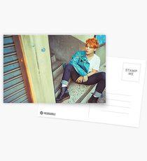 Jimin- Orange Postcards
