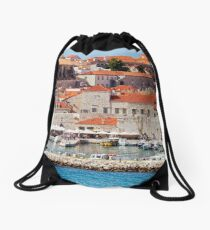 Dubrovnik Old Town Drawstring Bag