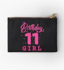 Pink Birthday Girl 11 Studio Pouch