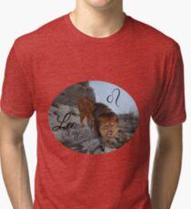 Leo Zodiac Sign Tri-blend T-Shirt