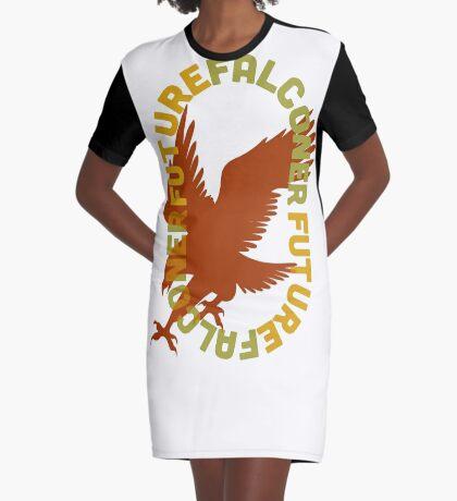 Future Falconer Made Especially for the Someday Falconer Graphic T-Shirt Dress