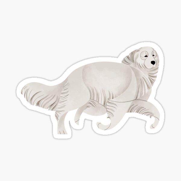 Year of the Dog - Chien de montagne des Pyrénées Sticker