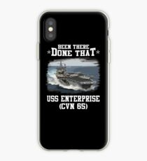 Vinilo o funda para iPhone USS Enterprise CVN 65