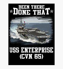 Lámina fotográfica USS Enterprise CVN 65