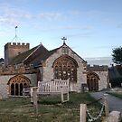 St Michael. the Archangel Parish Church.. Lyme Regis Dorset by lynn carter
