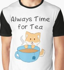 Always Time for Tea Graphic T-Shirt