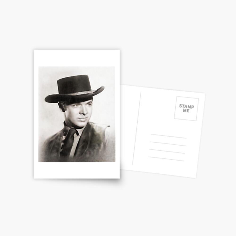 Audie Murphy, Held und Hollywood Star Postkarte