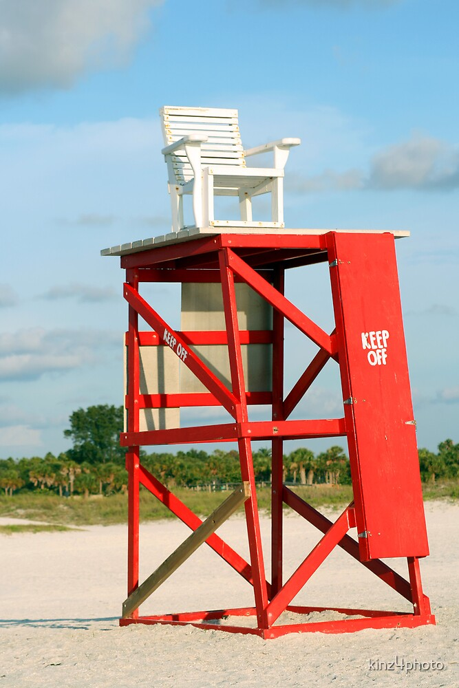 Lifeguard Chair by kinz4photo